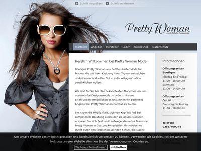 Boutique Pretty Woman Cottbus OUTLET