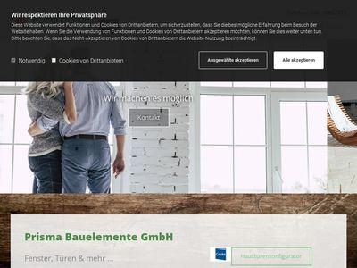 Prisma Bauelemente GmbH Fenster und Türen