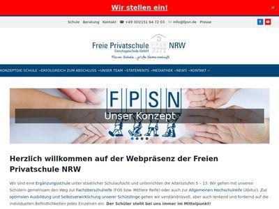 FPSN Freie Privatschule NRW