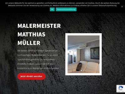 Malermeisterbetrieb Matthias Müller