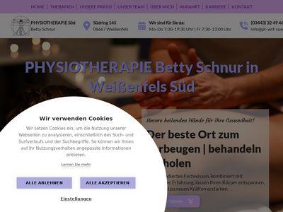 Physiotherapie Süd Betty Schnur