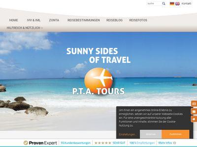PTA TOURS Reisen