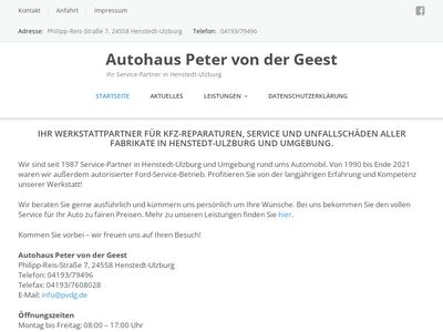 Autohaus Peter von der Geest