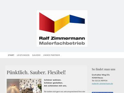 Malerfachbetrieb Ralf Zimmermann