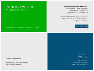 Lamberts Webdesign