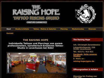 Raising Hope Tattoo-Studio
