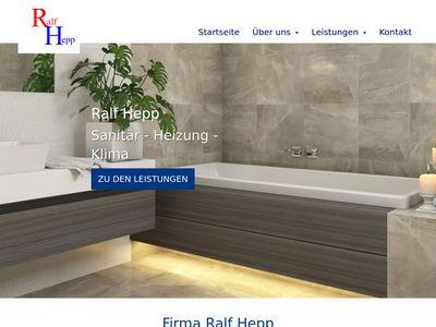 Ralf Hepp | Sanitär Heizung Klima