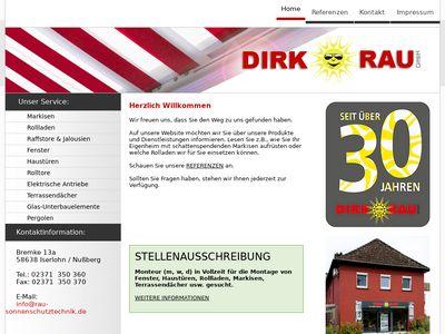 Dirk Rau Sonnenschutztechnik
