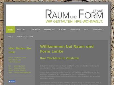 Raum und Form Inh. Tobias Lenke