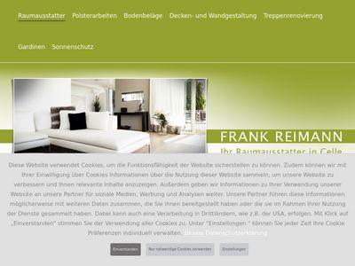 Raumausstattermeister Frank Reimann
