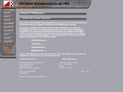 Raumausstattung Otto Bense