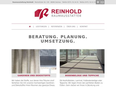 Raumausstattung Reinhold