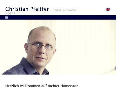 Pfeiffer Christian Rechtsanwalt und Notar