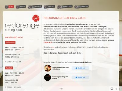 Redorange cutting club Offenburg