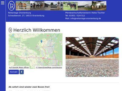 Reitanlage Oranienburg Heike Tischler