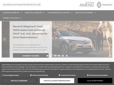 Autohaus Amend GmbH & Co. KG