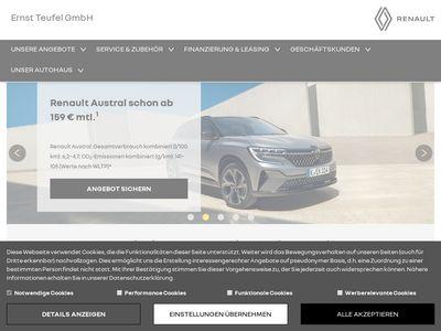 Autohaus Ernst Teufel GmbH