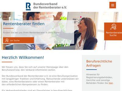 Bundesverband der Rentenberater e.V.