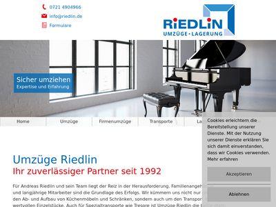 Spedition A. Riedlin
