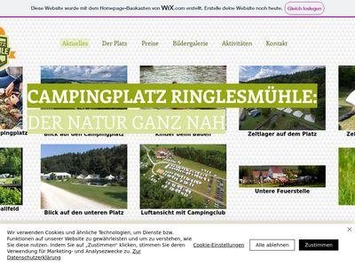 Campingplatz Ringlesmuhle