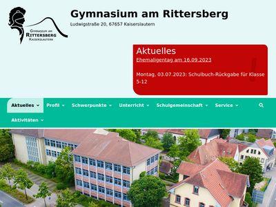 Gymnasium am Rittersberg