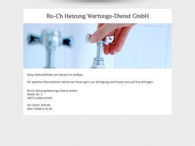 Ro - Ch Heizung Wartungs - Dienst GmbH