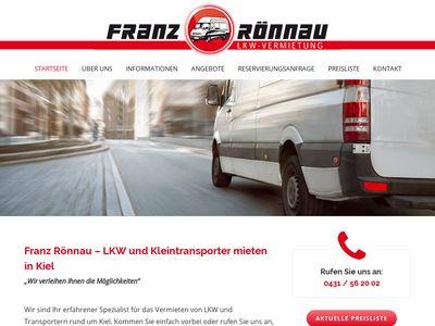 Rönnau Franz LKW-Vermietung
