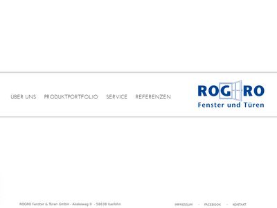 Rogro Fenster & Türen GmbH