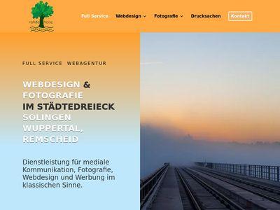 Rohdeheise Webdesign Fotografie Solingen