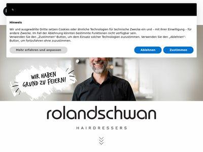 Roland Schwan hairdressing