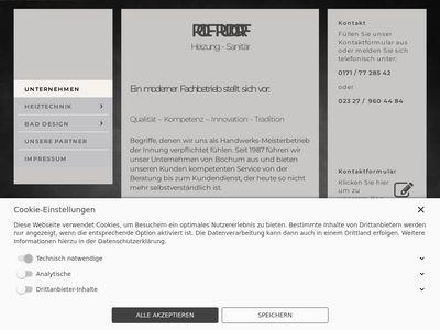 Rudorf Rolf Sanitär Heizung