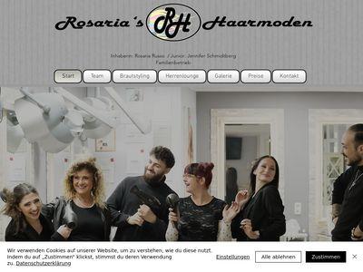 Rosaria's Haarmoden