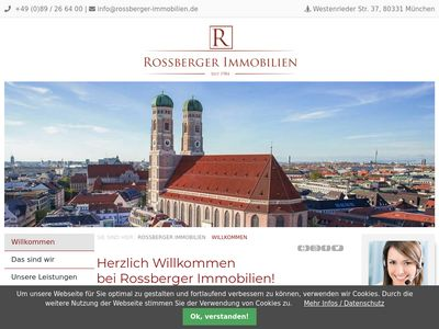 Rossberger Immobilien München