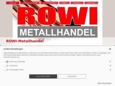 Robert Wittig ROWI Metallhandel