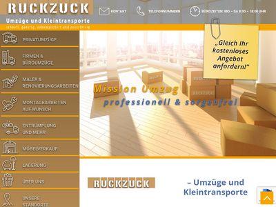 Ruck-Zuck-Umzüge