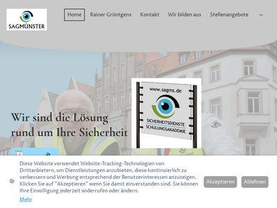 Sicherheitsdienst Grüntgens Münster