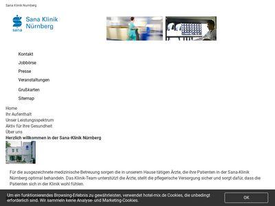 Sana Klinik Nürnberg