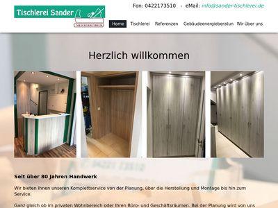 Tischlerei Sander