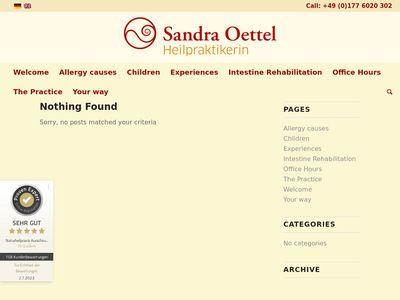 Heilpraktiker Trier Sandra Oettel