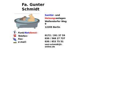 Gunter Schmidt
