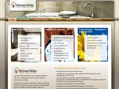 Müller Michael Sanitär- Heizung-Solar