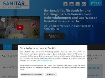 Sanitär Notdienst Hannover