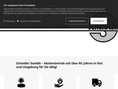 Sanitär SCHEIDLER Inh. S. Müller