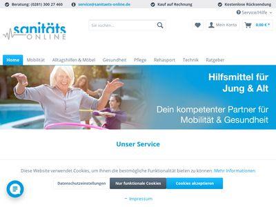 Sanitäts Online