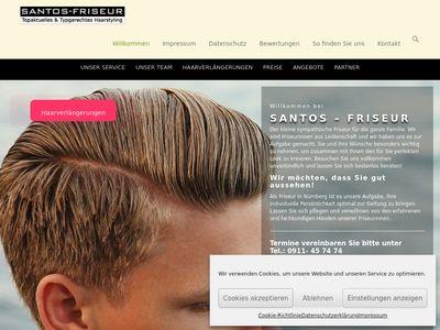Santos Friseur Haarverlängerung