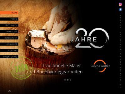 Sascha Wuttke Malerwerkstatt