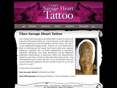 Coras Tätowierstudio Savage Heart