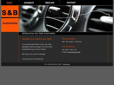 S & B Automobile An- und Verkauf