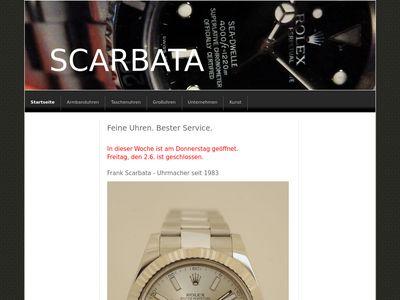 Scarbata - Mechanische Uhren