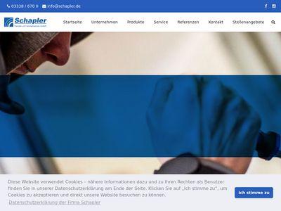Schapler Fenster und Sonnenschutz GmbH